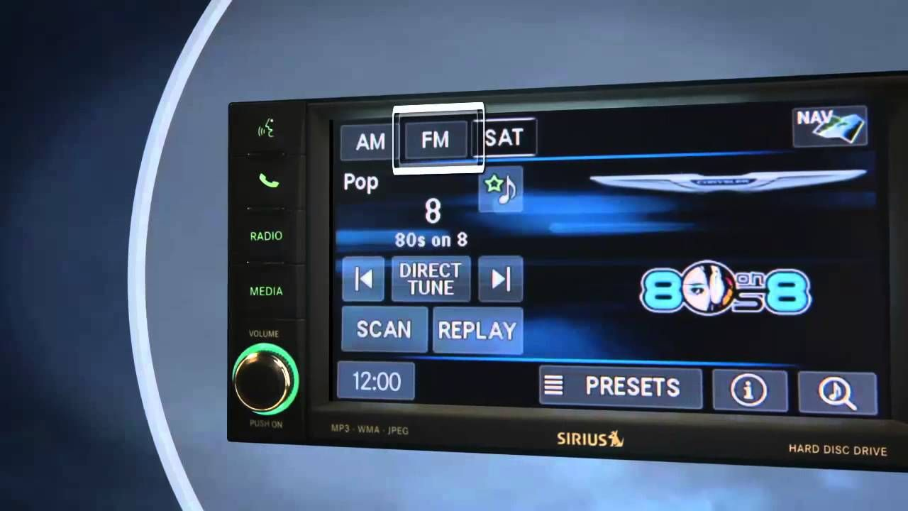 Uconnect 430 430n Introduction Youtube Uconnect Radio