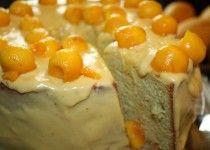 Manila Mango Chiffon Cake with Mango Icing : Happy Birthday!