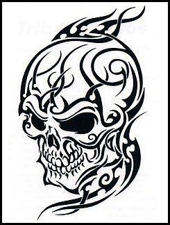 Dailyshop365 Com Tribal Skull Tribal Tattoos Tribal Tattoo Designs