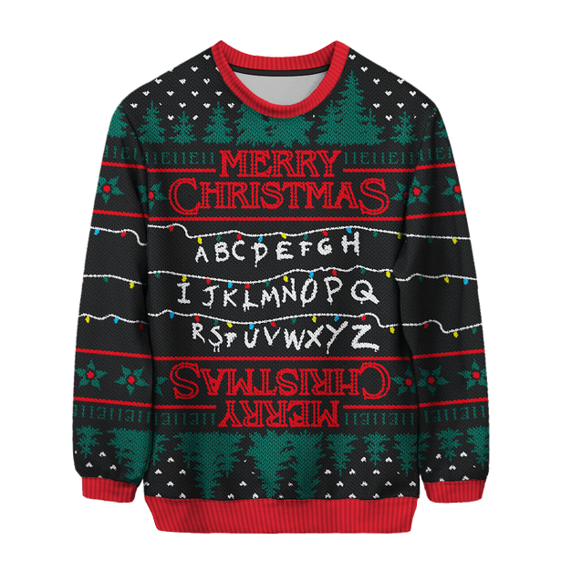 Stranger Things Christmas Sweater.Absolute Best Tv And Film Christmas Jumpers From Stranger