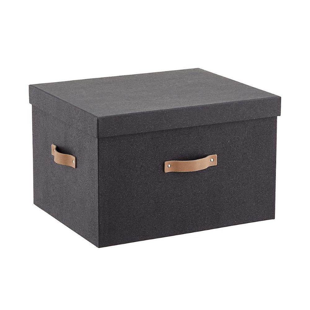 Bigso Black Woodgrain File Box And Legal Size Folders Starter Kit File Storage File Box Storage