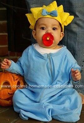 coolest maggie simpson costume - Simpson Halloween Costume
