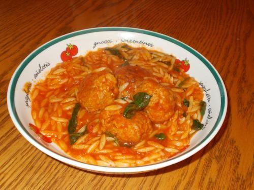 Ragout de boulettes à l'italienne - Manger avec mo