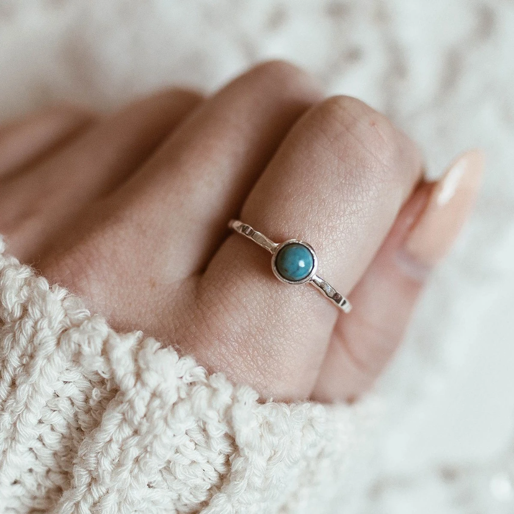 Boho Turquoise Ring   Pura Vida Bracelets