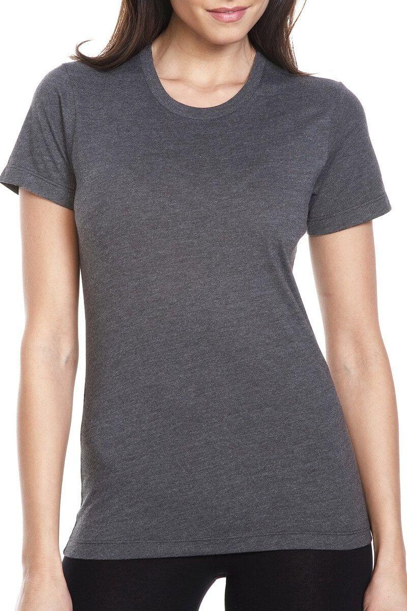 """Women's CVC Crew TShirt"" Next level apparel, Wholesale"