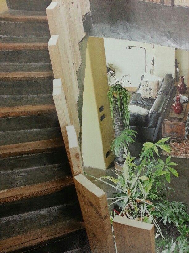Escada Rústica