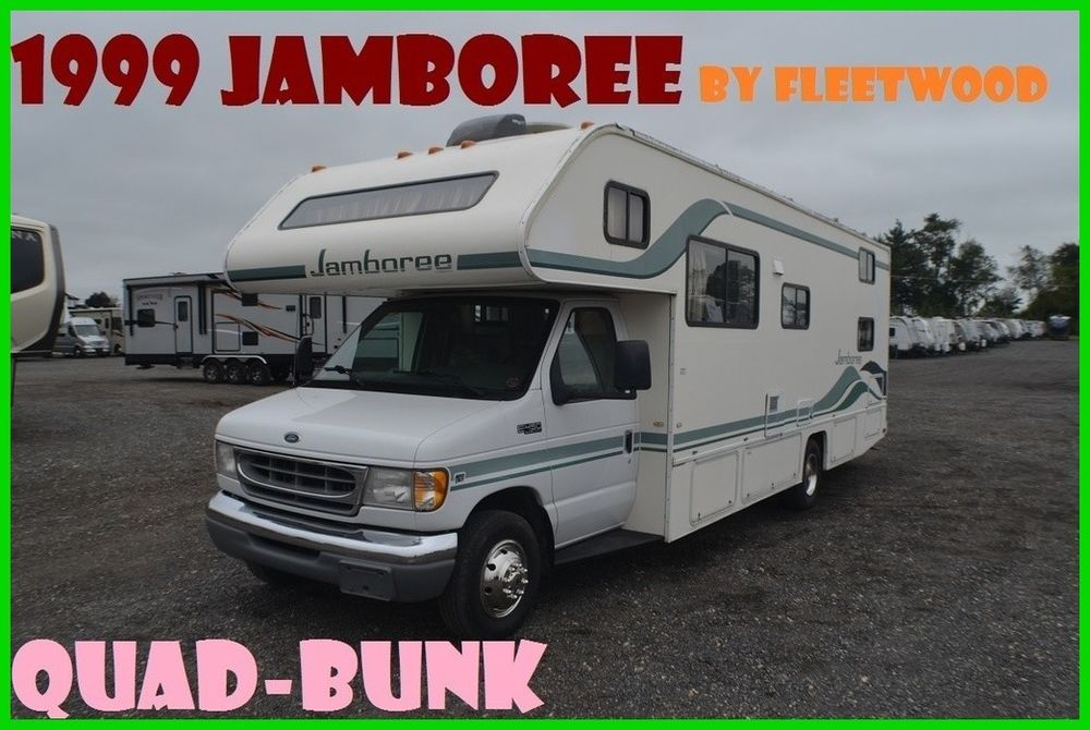 1999 Fleetwood Jamboree M V29 Used Other Vehicles And Trailers