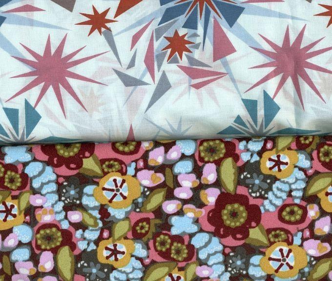 Blanket Kit: Anna Maria Horner - VELVET & VOILE - The Velveteen Blanket Floral