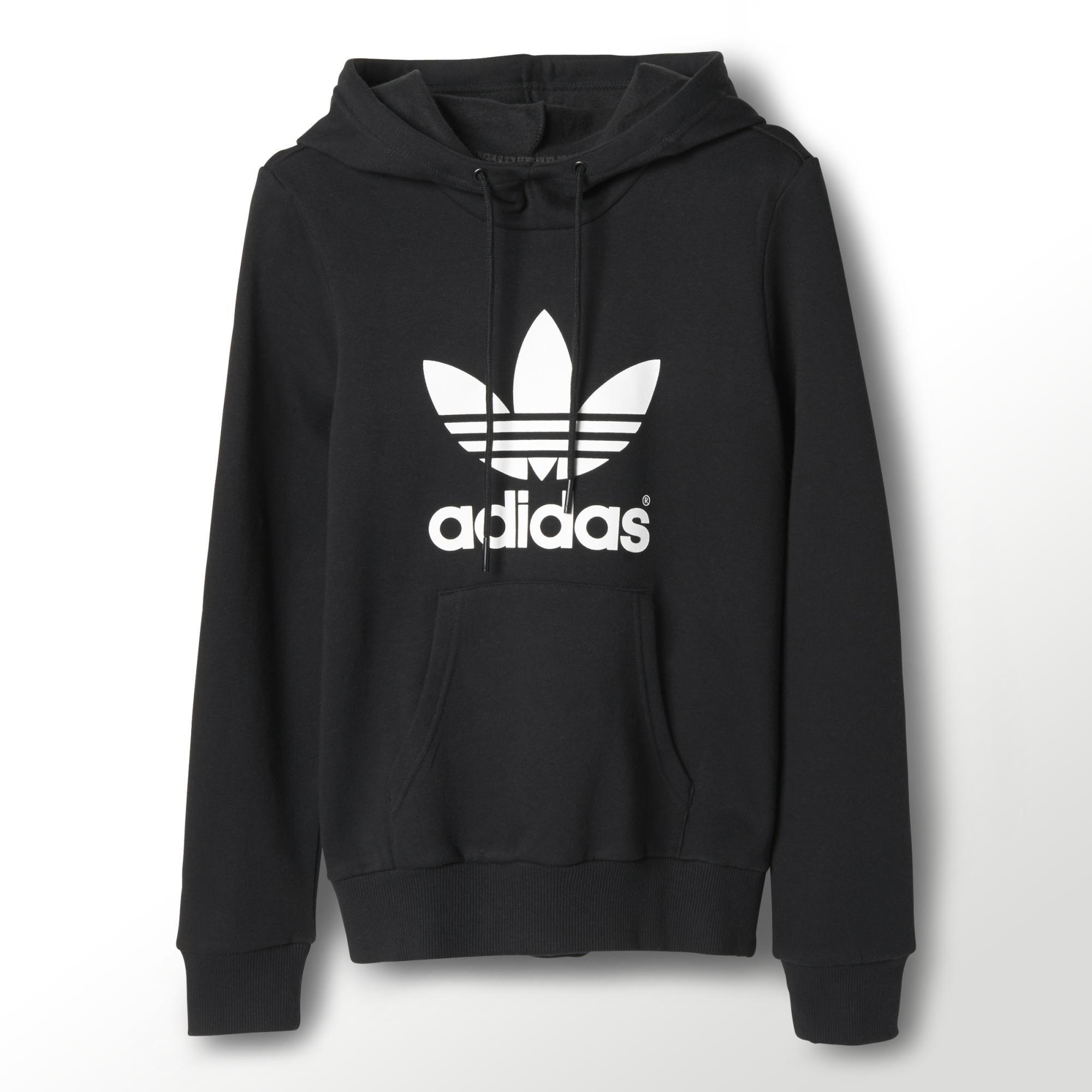 Adidas Trefoil Logo Hoodie Adidas Uk Adidas Pullover Sweatshirts Addidas Shirts [ 2000 x 2000 Pixel ]