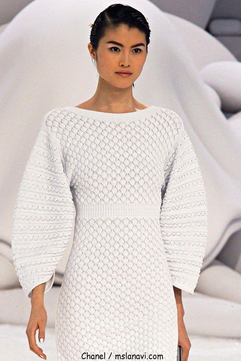 Вязаные платья от дизайнеров со схемами фото 333