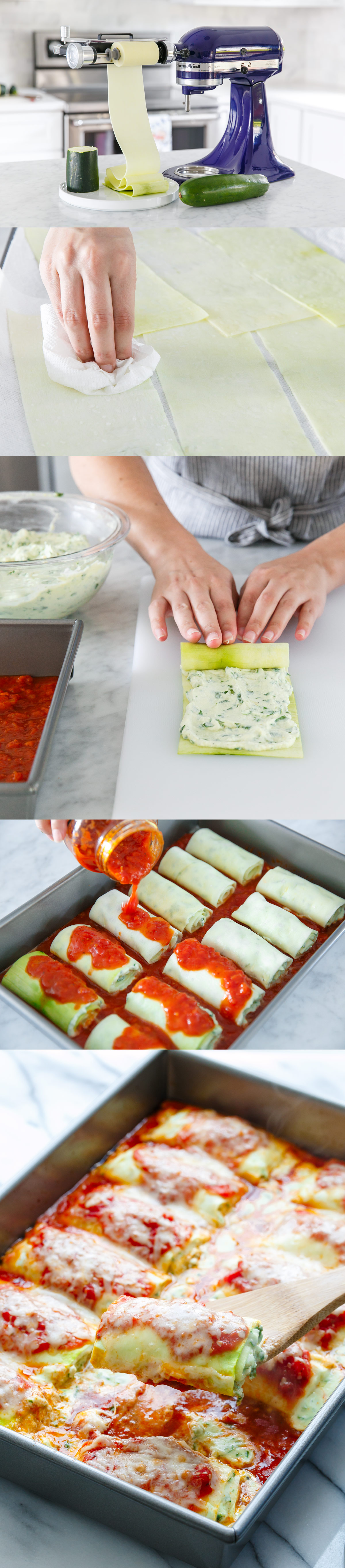 kitchenaid vegetable sheet cutter attachment. happy national zucchini day! @loveandoliveoil is celebrating with her recipe for lasagna rolls kitchenaid vegetable sheet cutter attachment h