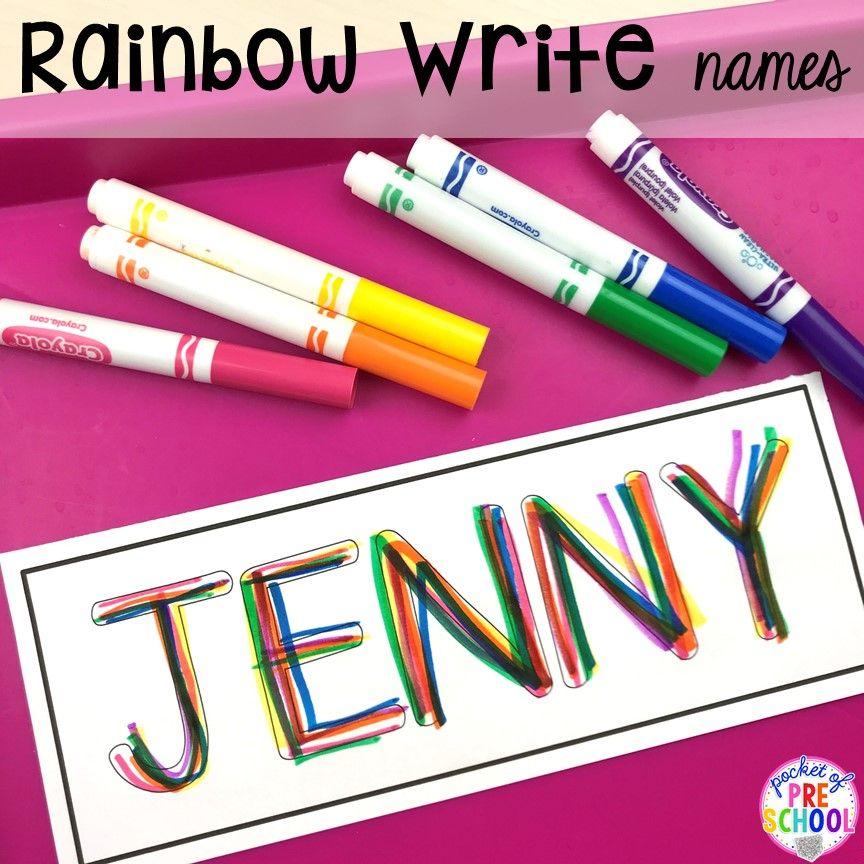 FREE Editable Name Mats   Kindergarten name activities ...