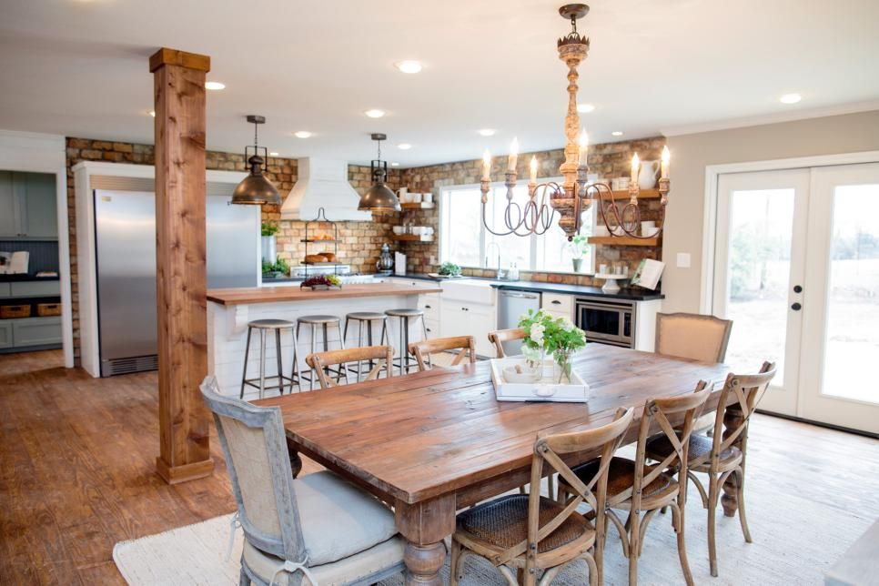 Fixer Upper Country Style in a Very