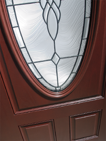 Beautiful Full View Glass Entry Door