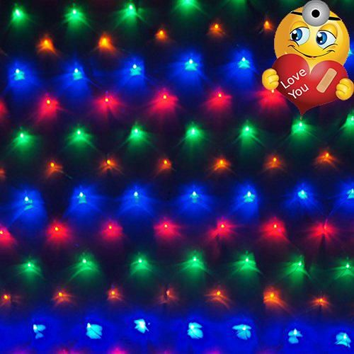 Bloomwin LED Net Lights 98ft X 65ft Fairy Lights Outdoor Party