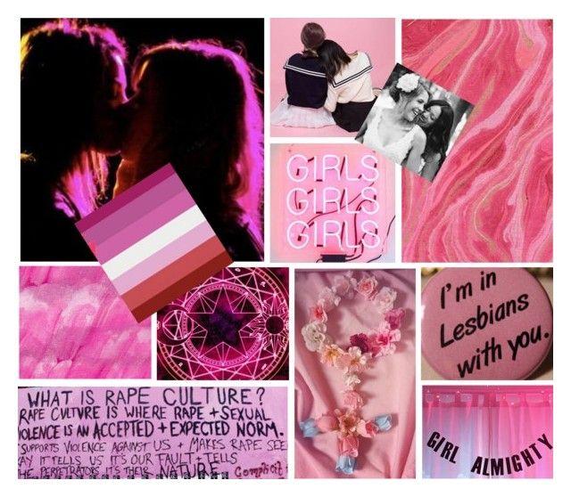 Lipstick lesbian moodboard