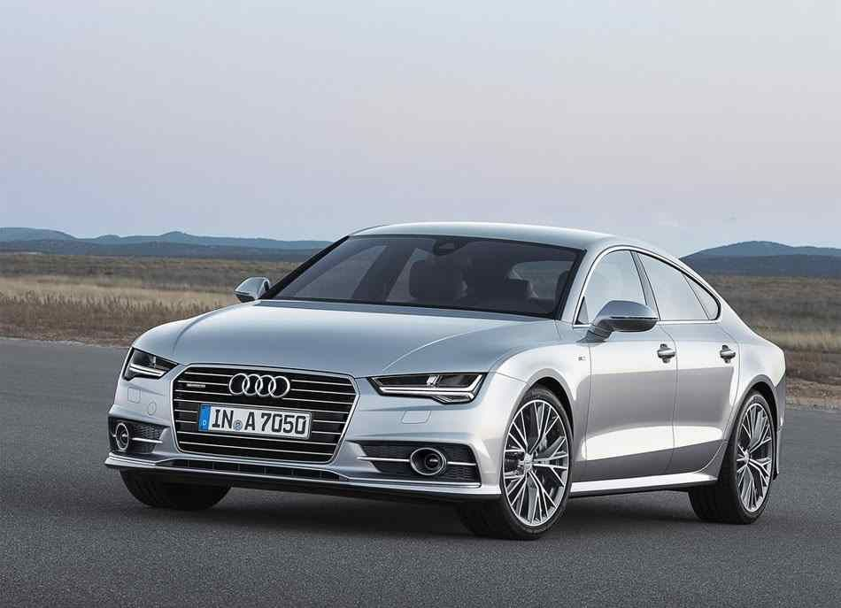 2018 2019 Audi A7 And 2018 2019 Audi S7 Planned Restyling Models