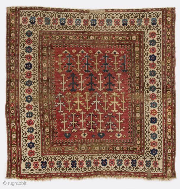 Caucasian Rug 6 X 6 185x185 Cm Caucasian Rug Rugs Rugs On Carpet