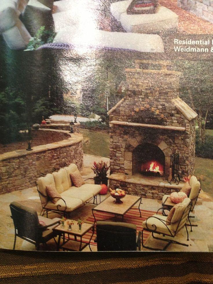 Inspirational Backyard Fireplace Ideas