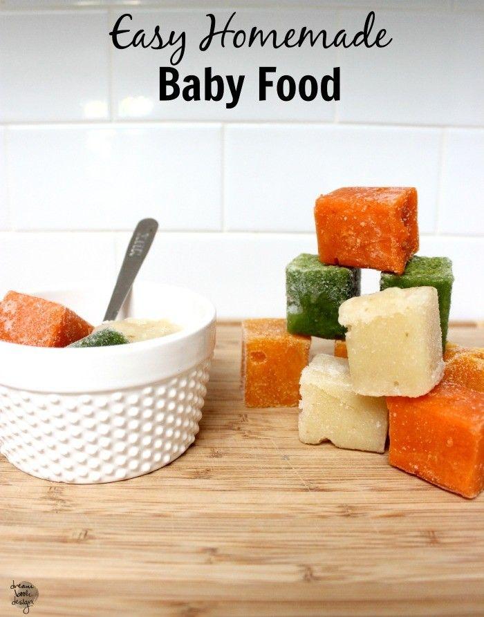 Homemade baby food homemade baby foods homemade baby and homemade homemade baby food dream book design forumfinder Gallery