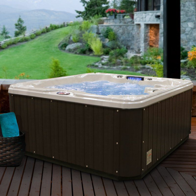 LOL 5-Person 30-Jet Spa with Backlit LED Waterfall | LIVE // Our New ...