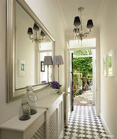 Elegant Entry Hall Mirror