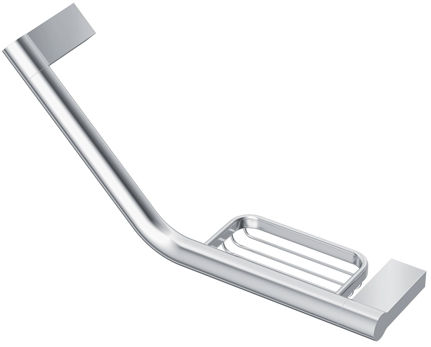 Ideal Standard Concept Grab Rail With Soap Basket - A9152AA ...
