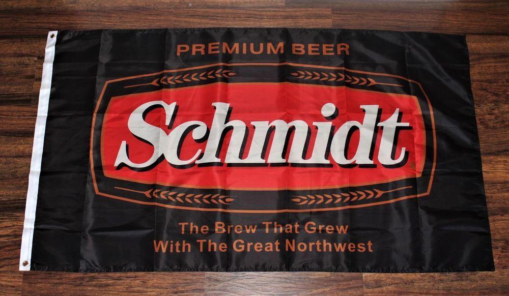 Schmidt Beer Brewery Flag Banner Brewing Schmidts 3 X 5 Usa Shipper New Unbranded Schmidt Beer Beer Brewery Banner