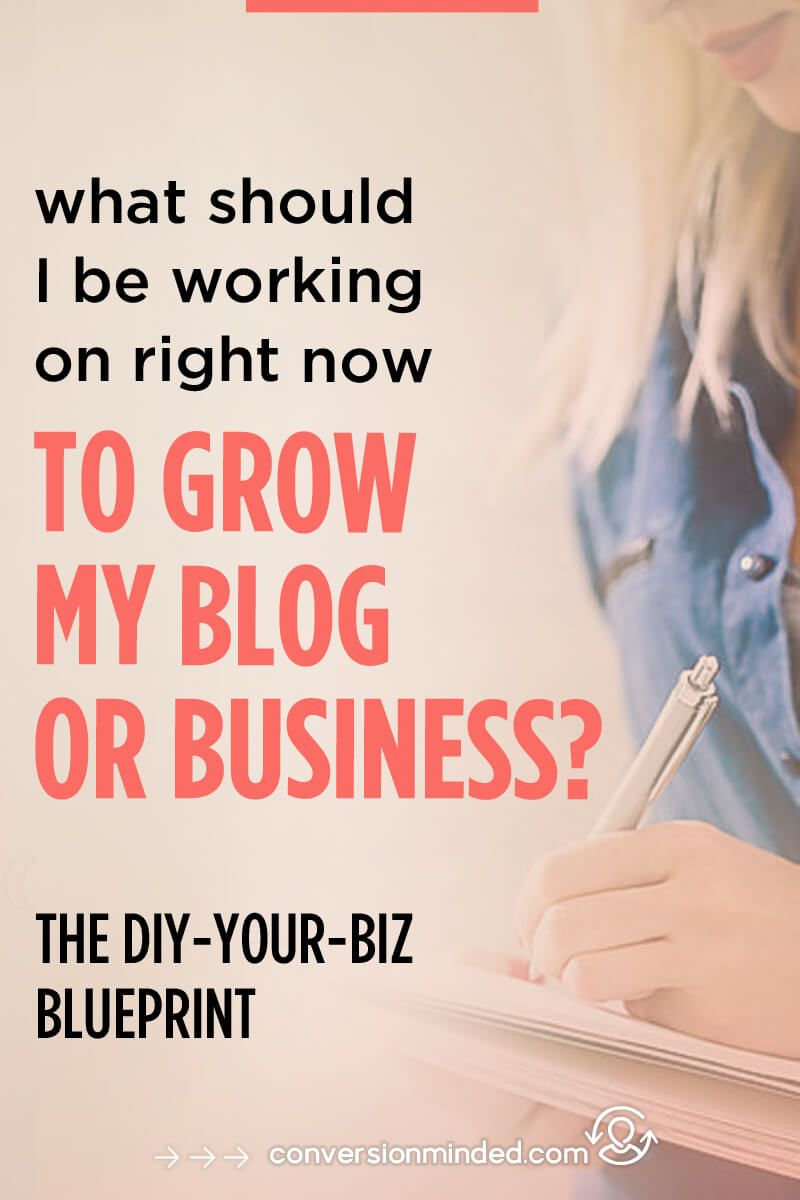 What should i be working on right now the diy your biz blueprint online business blueprint this post includes a blueprint to help bloggers and entrepreneurs prioritize and malvernweather Choice Image