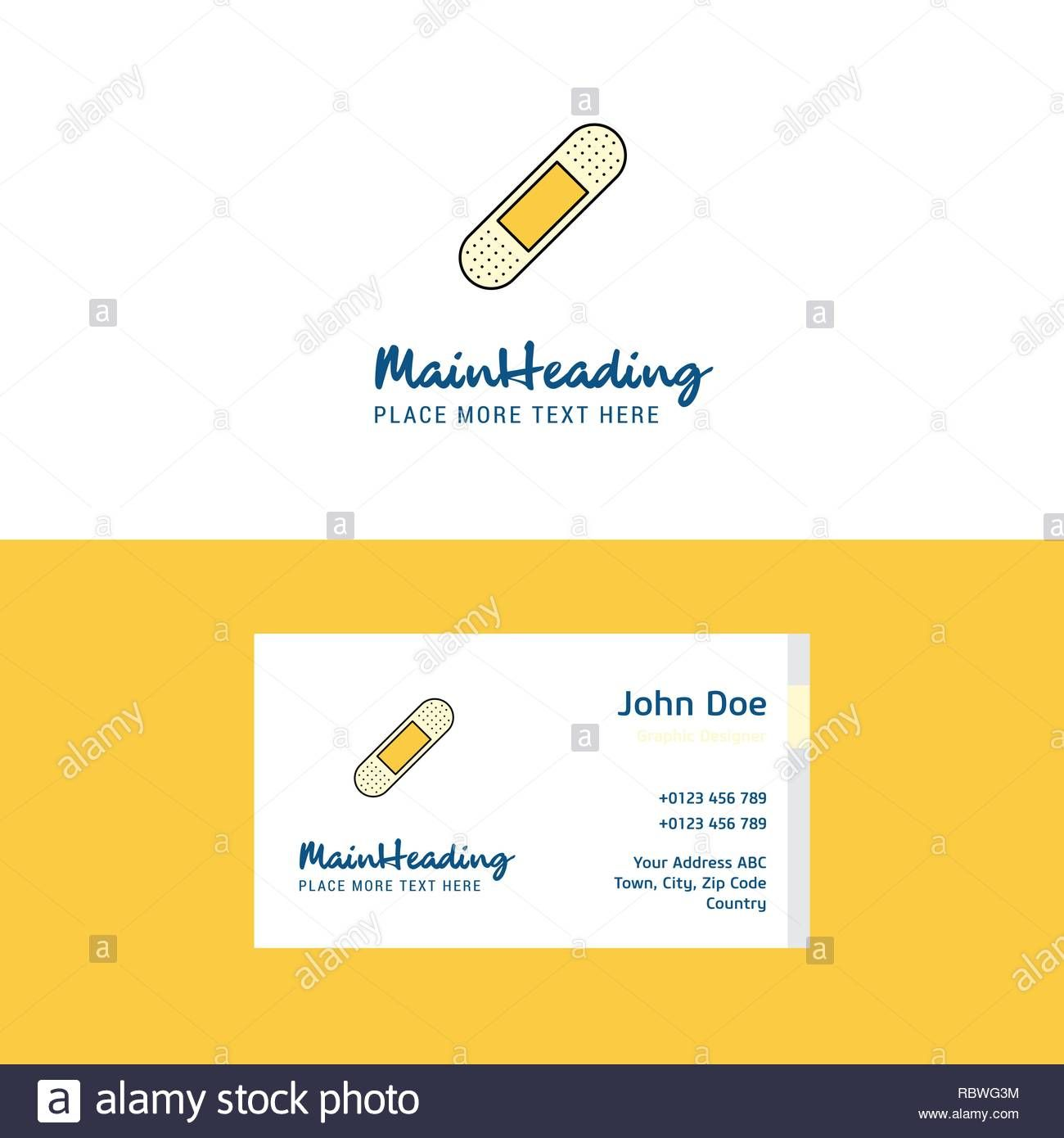 Flat Plaster Logo And Visiting Card Template Busienss Pertaining To Plastering Business Cards Te Visiting Card Templates Visiting Cards Business Card Template