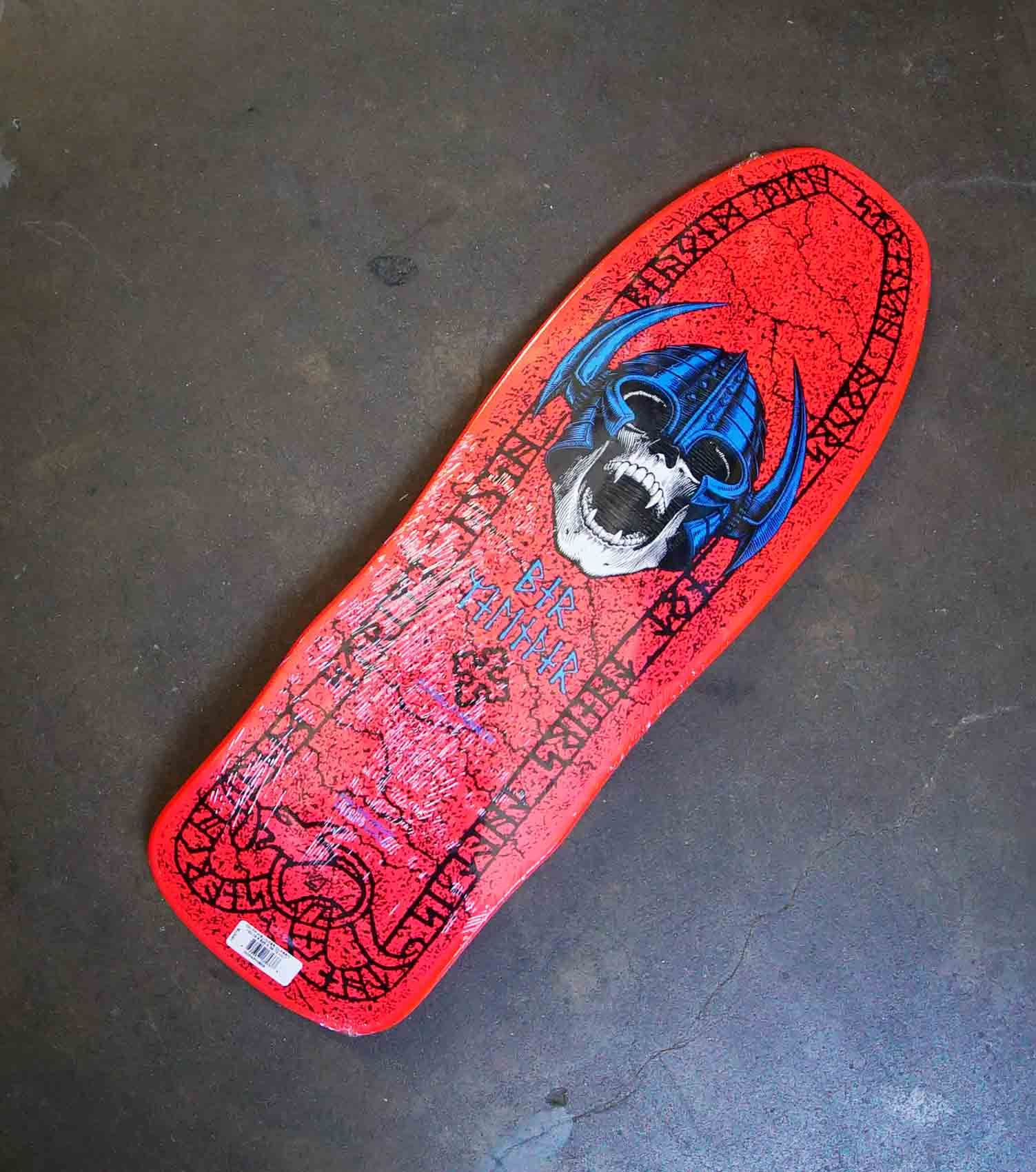 Powell Peralta Welinder Nordic Skull Skateboard Deck Pink 9 625 X 29 75 Skateboard Decks Skateboard Peralta