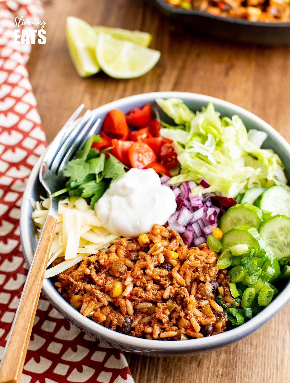 These Turkey Rice Burrito Bowls make a great family meal