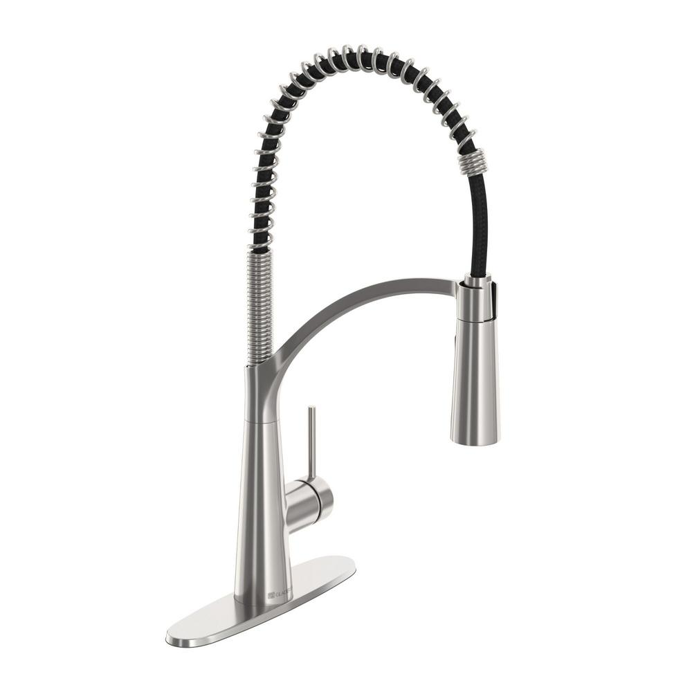 Glacier Bay Brenner Commercial Style Single Handle Pull Down