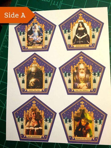 honeyduke u0026 39 s chocolate frog cards