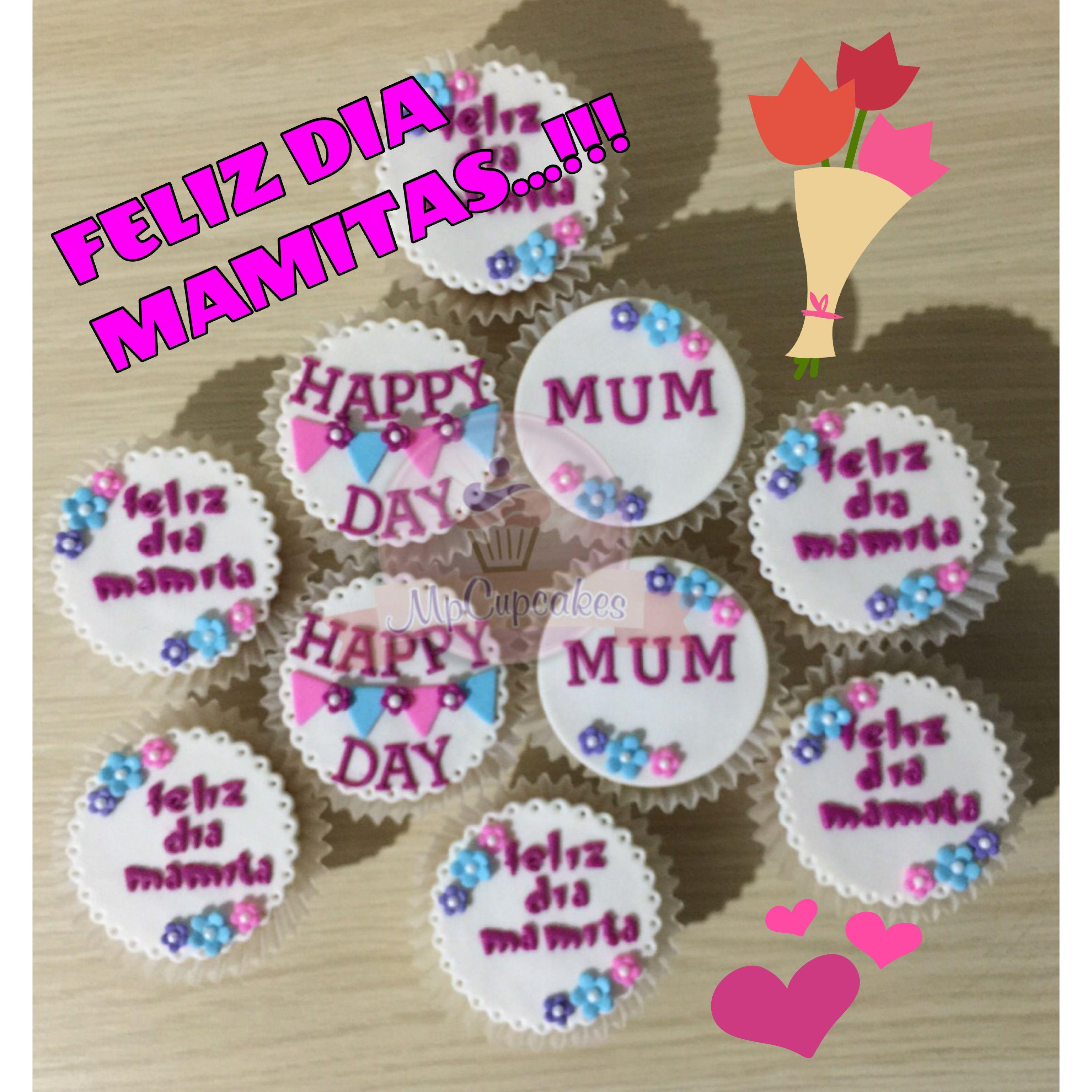 Cupcakes dia de las madres