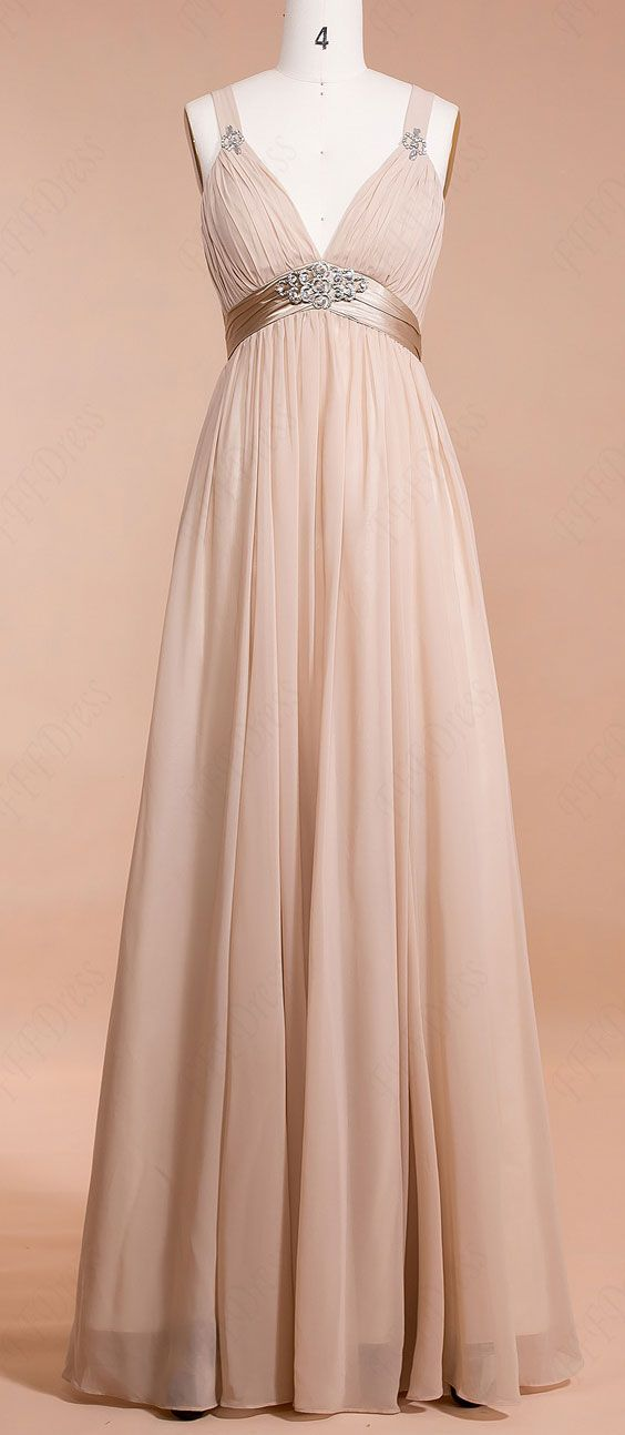 Champagne Maternity Bridesmaid Dresses For Pregnant Maid