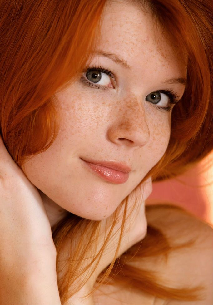 Ginger hair women with freckles porno