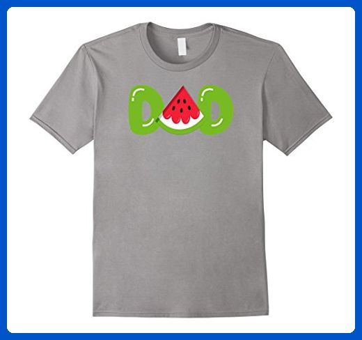 67f75c421 Mens Dad Watermelon T-Shirt - Funny Summer Melon Fruit Cool Tee XL Slate -  Relatives and family shirts (*Amazon Partner-Link)