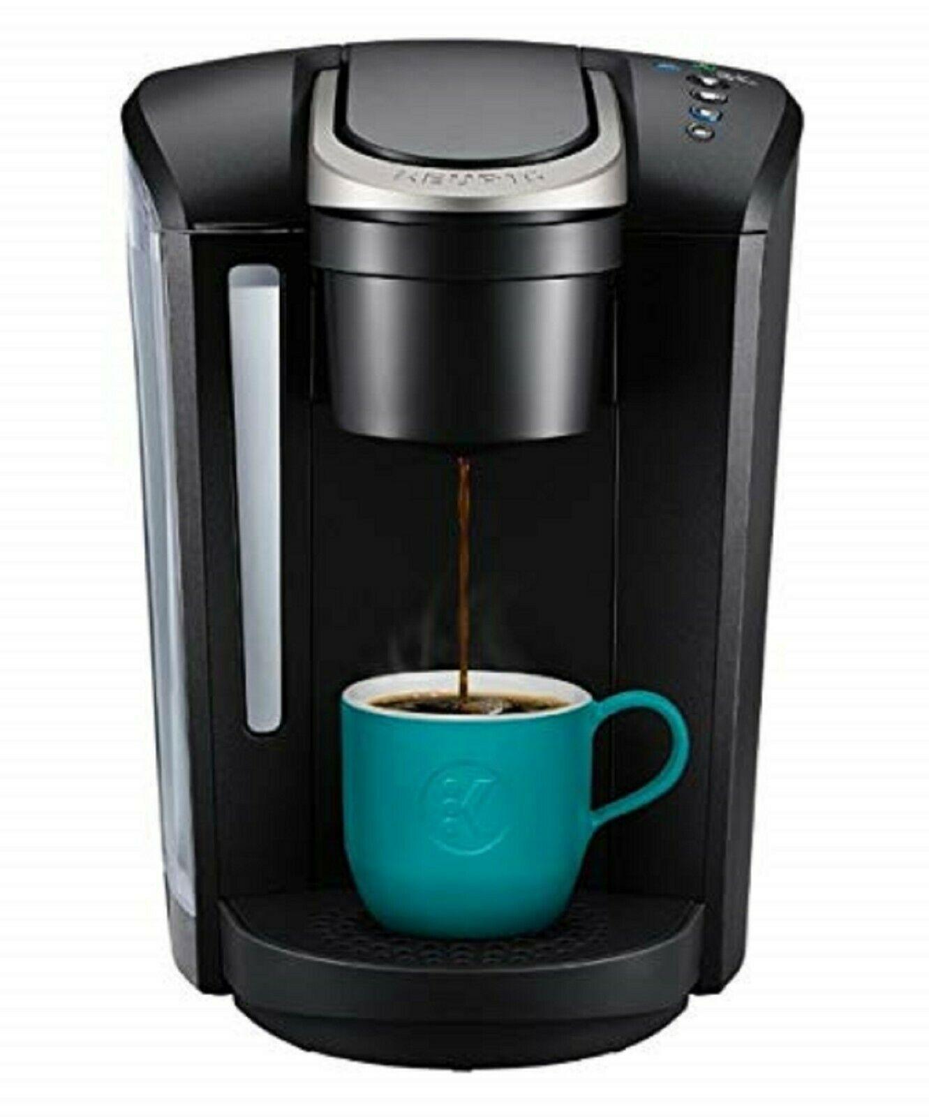 Coffee Maker Single Serve K Cup Pod w/Strength Control Hot