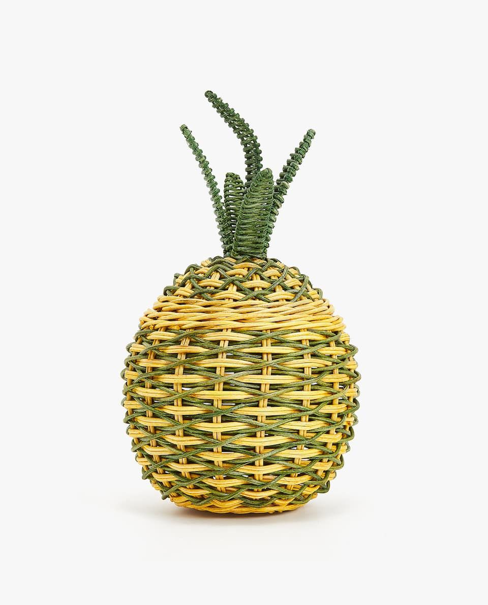 PINEAPPLE SHAPED BASKET   BASKETS AND BOXES   FOR DECORATING ...