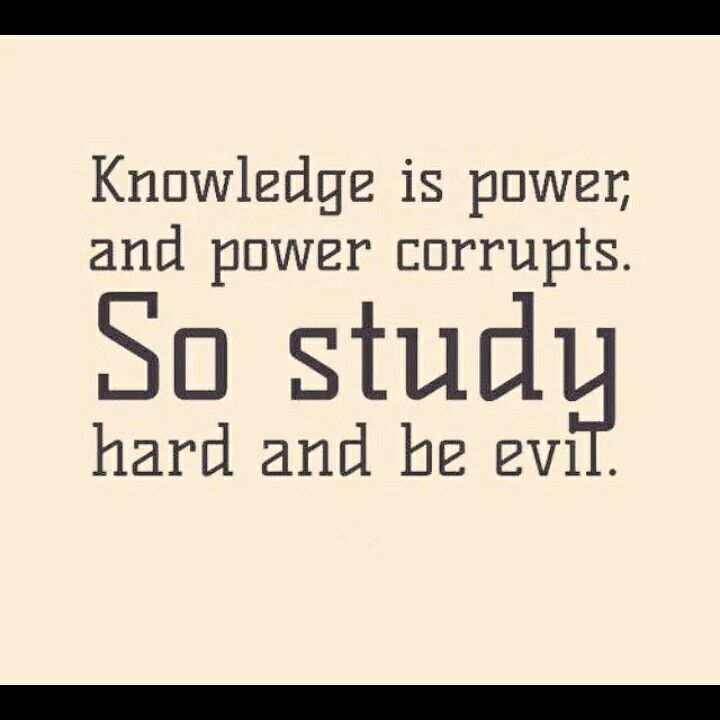 Knowledge is...