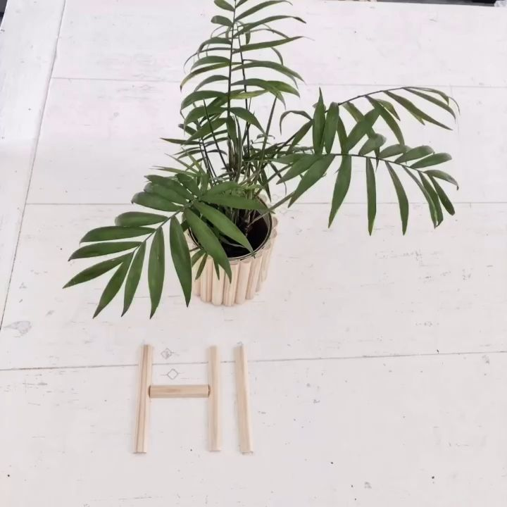 Photo of Cooler DIY Pflanzen Übertopf in 5 Minuten