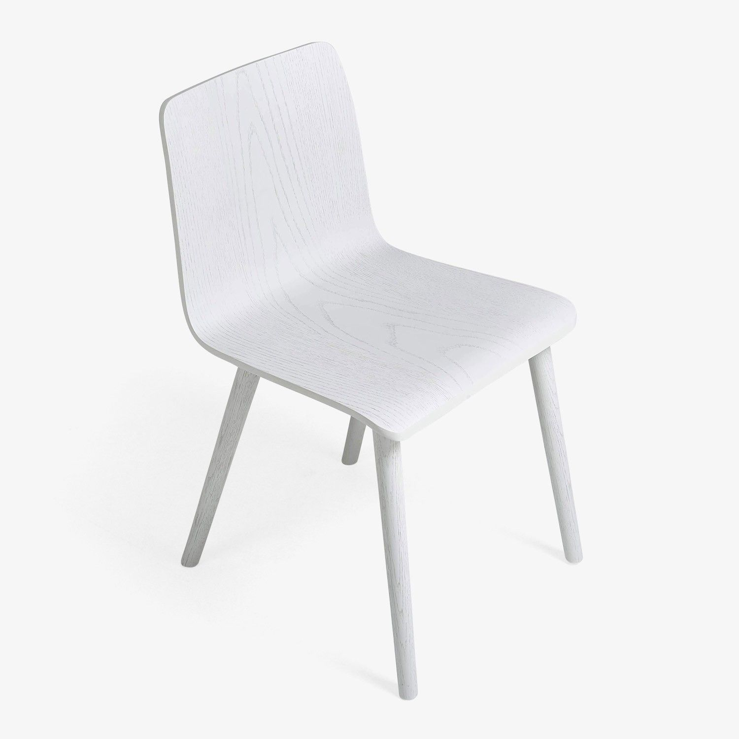 Discover The Cubist Oak Side Chair In Ice At ABC Carpet Home Crafted From White Demonstrates Streamlined Simplicity