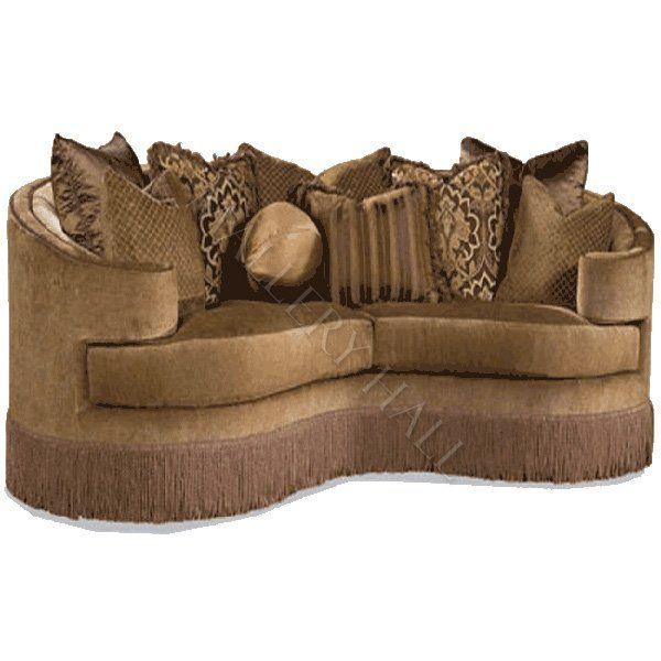 Huntington House 3396 Traditional Fringe Skirt Sofa At Belfort Furniture