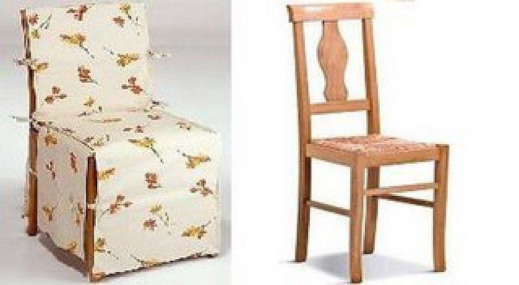 Como hacer fundas simples para sillas comedor m viles y for Fundas para sillas comedor