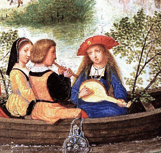 Simon Bening (16th century) - From The Da Costa Hours, detail, 1515