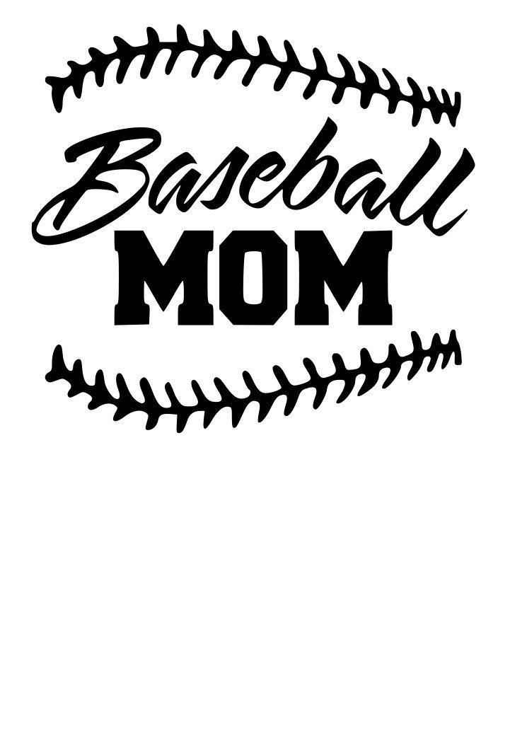 Baseball mom svg baseball mom baseball yeti decals