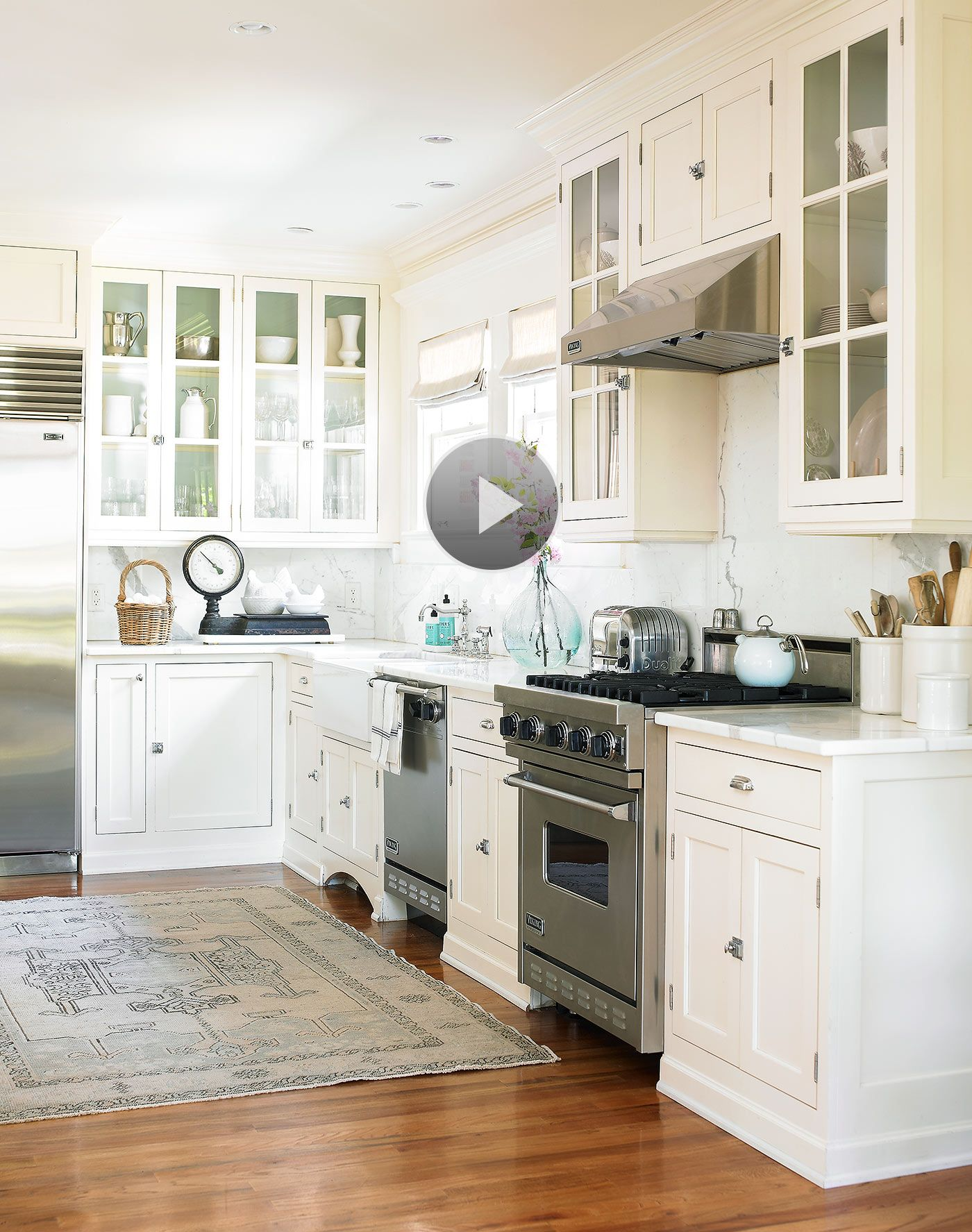 White Paint Colors for Kitchen Cabinets | White paint colors, White ...
