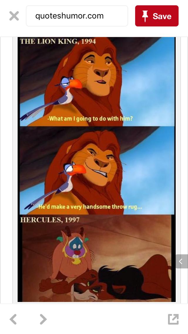 Scar Deserves It Disney Funny Disney Memes Disney Love