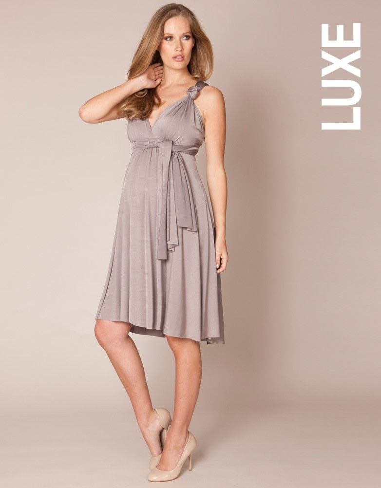 f175c8c4489f2 Dove Grey Multiway Maternity Dress | Seraphine | Oh Baby ...